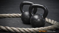 Kettlebellek és a Rope workout.