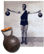Kettlebell edzés old time Strongfirst.